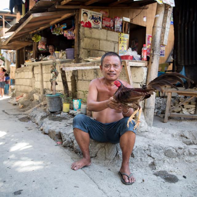 """People and Faces of Cebu City IX"" stock image"