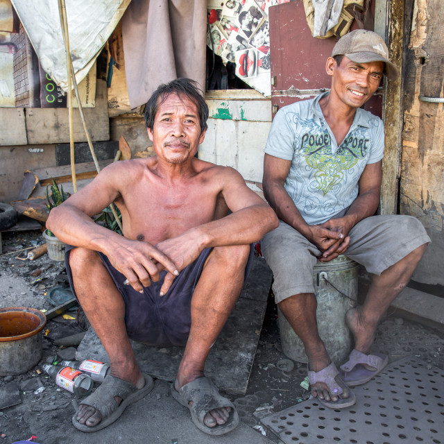"""""""People and Faces of Cebu City XV"""" stock image"""