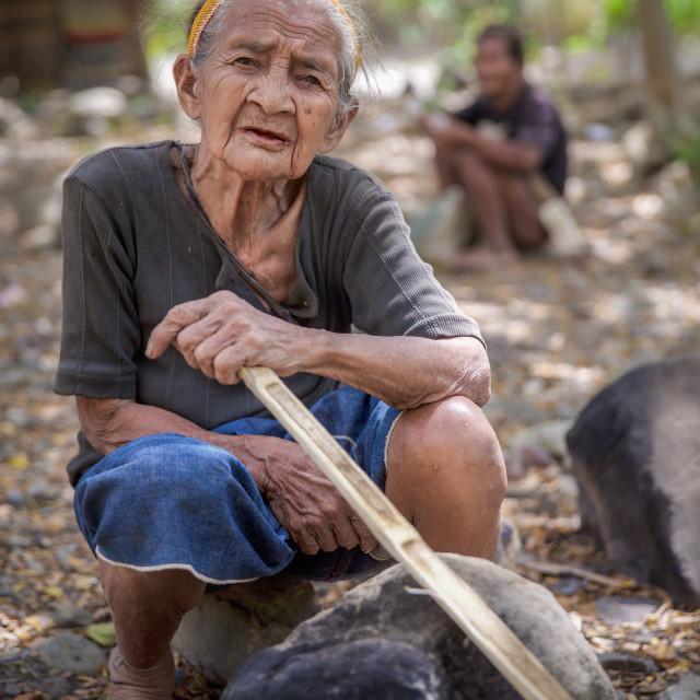 """""""Mangyan People on Mindoro IX"""" stock image"""