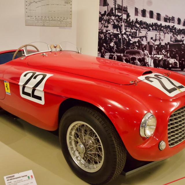 """Ferrari Le Mans debut"" stock image"