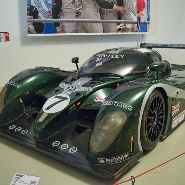 """Bentley Le Mans car"" stock image"