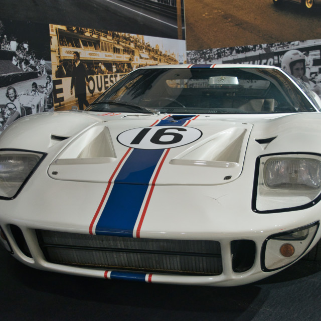 """""""Ford GT40 Le Mans 1967"""" stock image"""