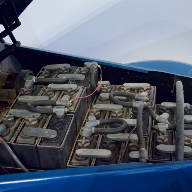 """Electric car"" stock image"