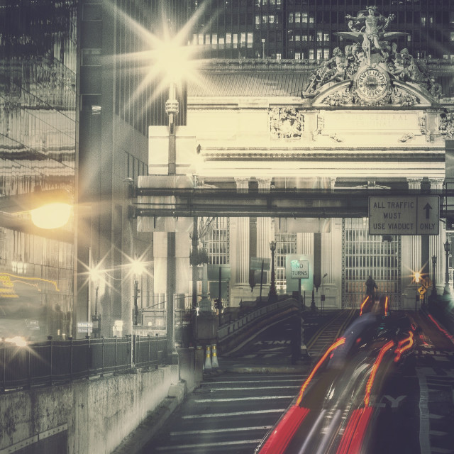 """""""Central Station"""" stock image"""
