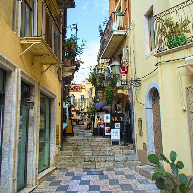 """Taormina"" stock image"