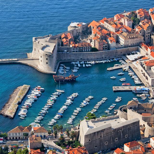 """Old Town of Dubrovnik in Croatia"" stock image"