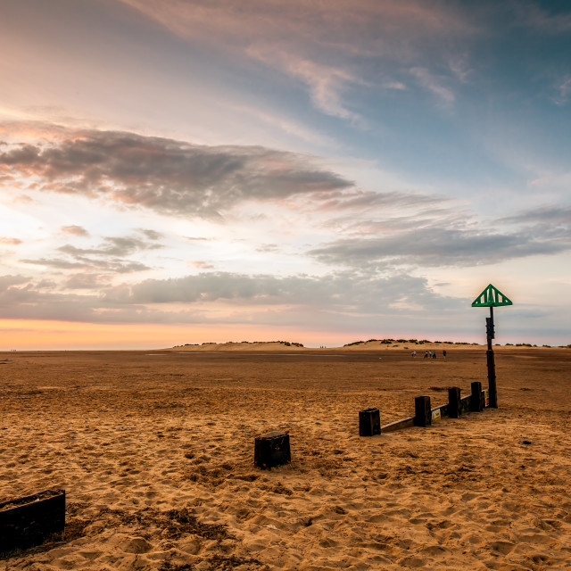 """""""Summer at Wells"""" stock image"""