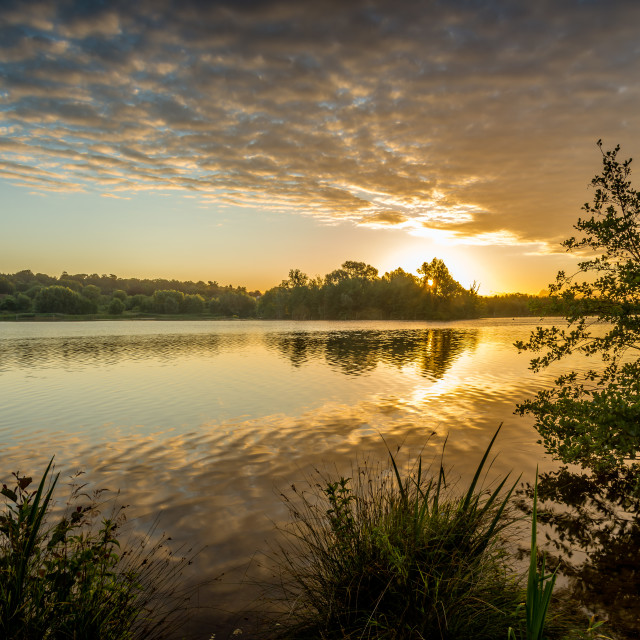 """Norfolk Sunrise"" stock image"