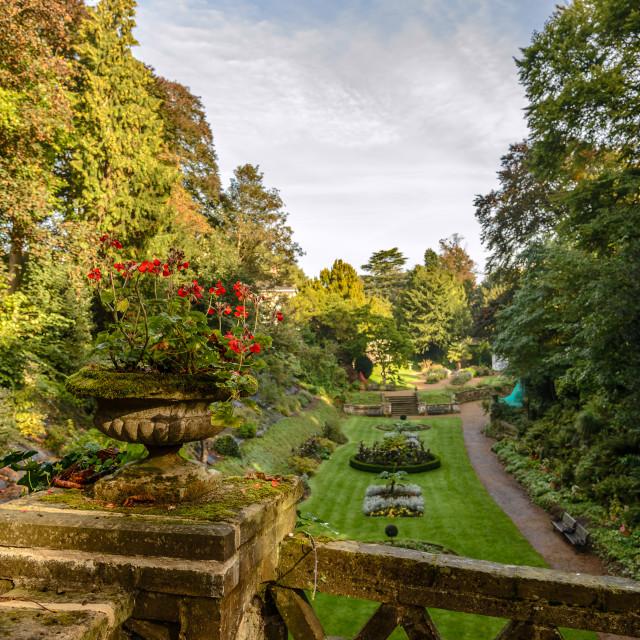 """Victorian Gardens"" stock image"