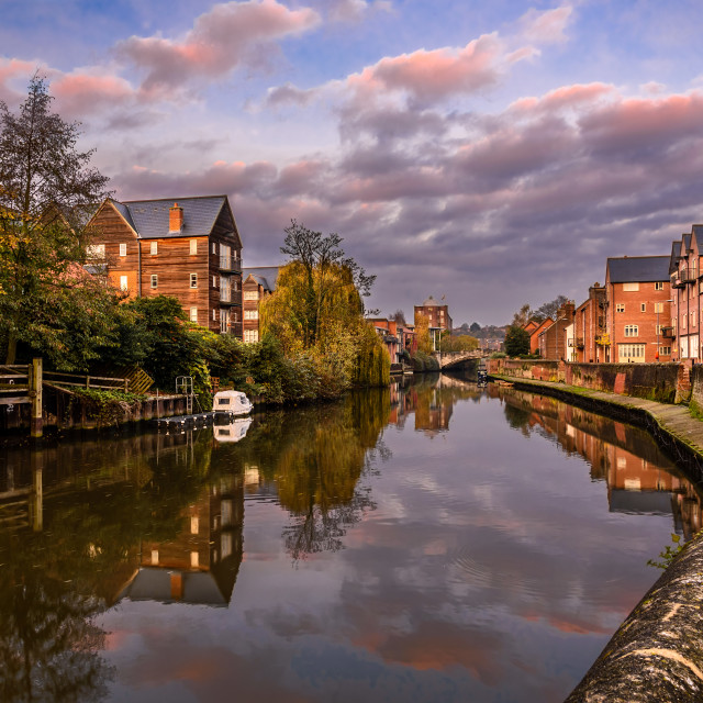 """Quay Side Norwich"" stock image"