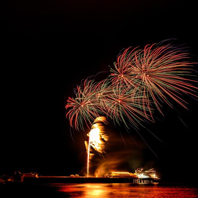 """Cromer Fireworks"" stock image"