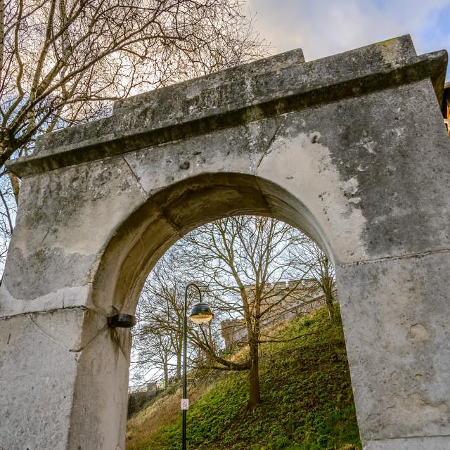 """Norwich Castle Keep"" stock image"