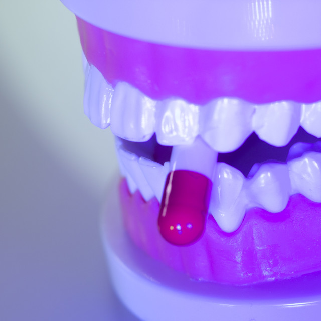 """Dental teeth dental pill"" stock image"
