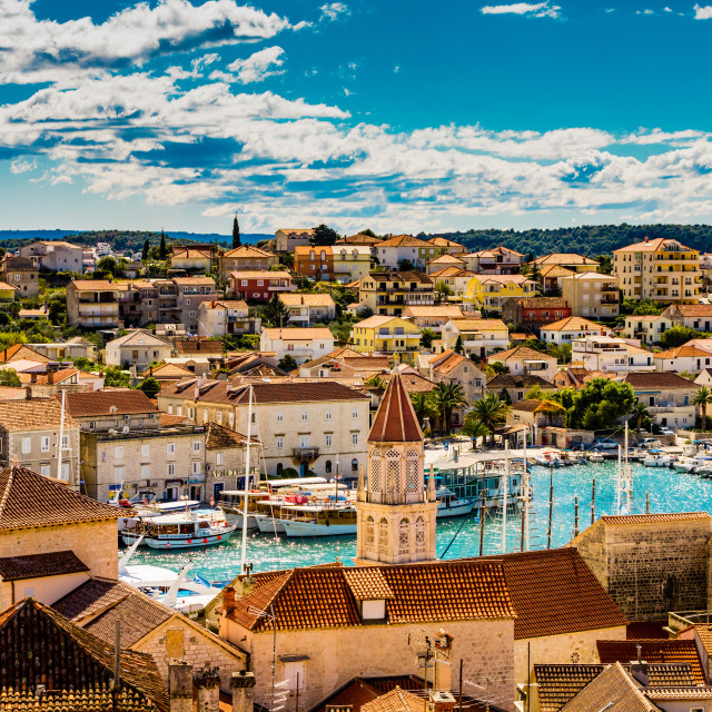 """Views of Trogir, Croatia."" stock image"