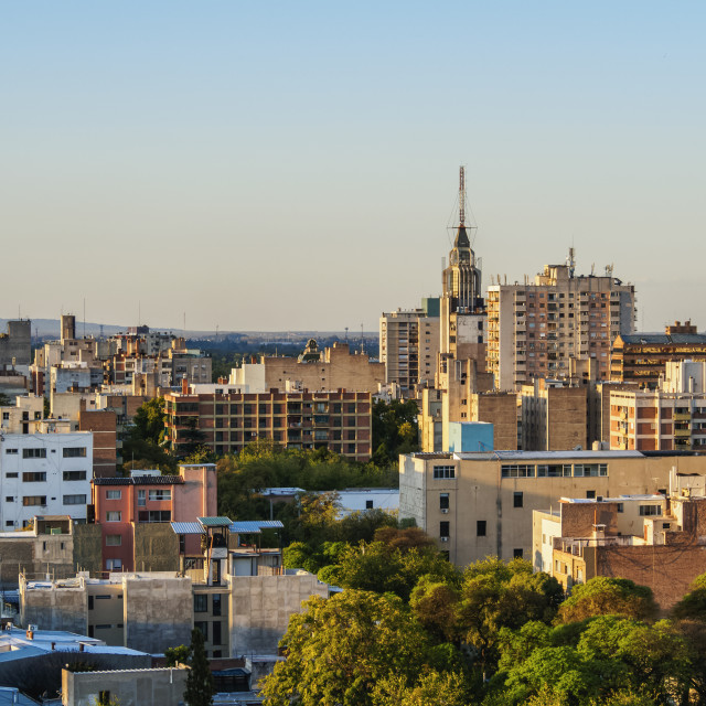 """Cityscape of Mendoza, Argentina"" stock image"