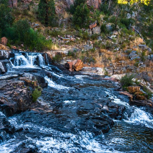 """MacKenzie Falls in Grampians National Park, Victoria, Australia."" stock image"