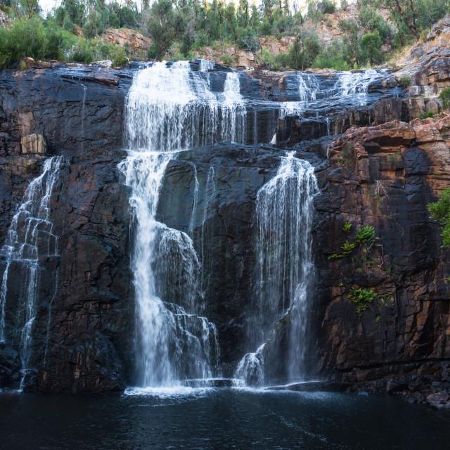 """MacKenzie Falls in Grampians National Park, Victoria, Australia"" stock image"