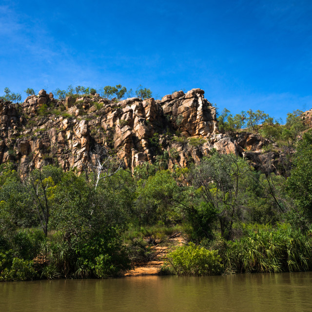 """Katherine Gorge National Park, Northern Territory, Australia, Pacific"" stock image"