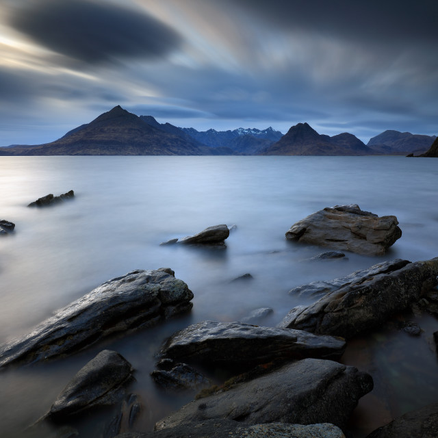 """Elgol Rocky Shore"" stock image"