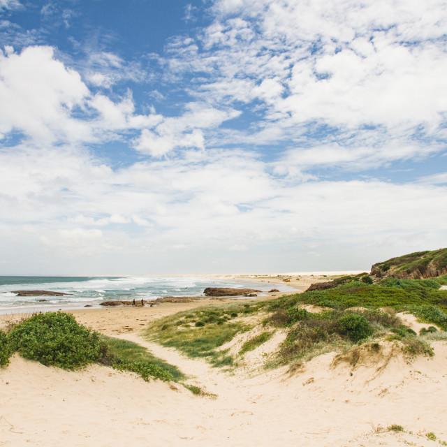 """Beach view"" stock image"