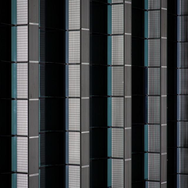 """Office block windows"" stock image"