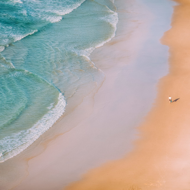 """Beach walk"" stock image"