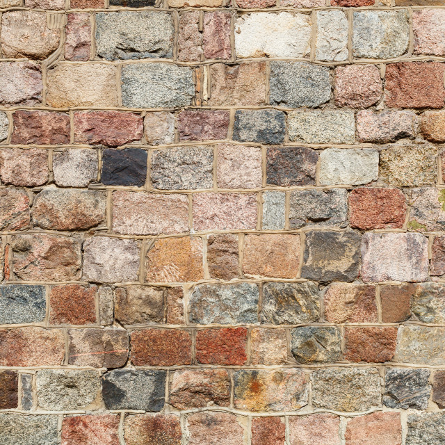 """Stone wall background"" stock image"
