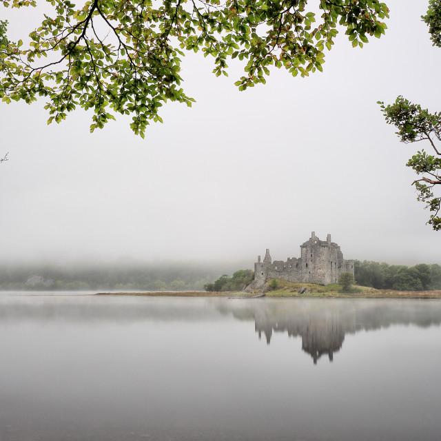 """Misty Castle"" stock image"