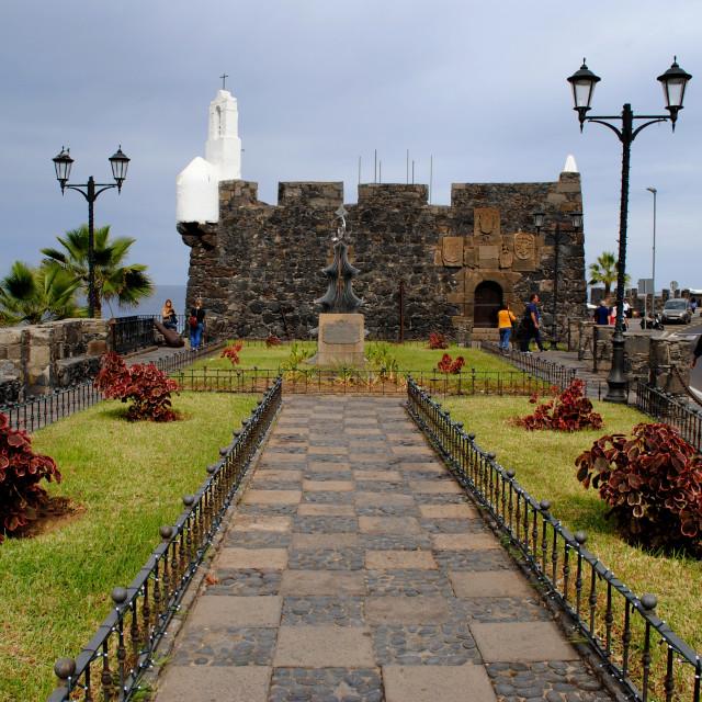 """""""Castillo de San Miguel Garachico"""" stock image"""
