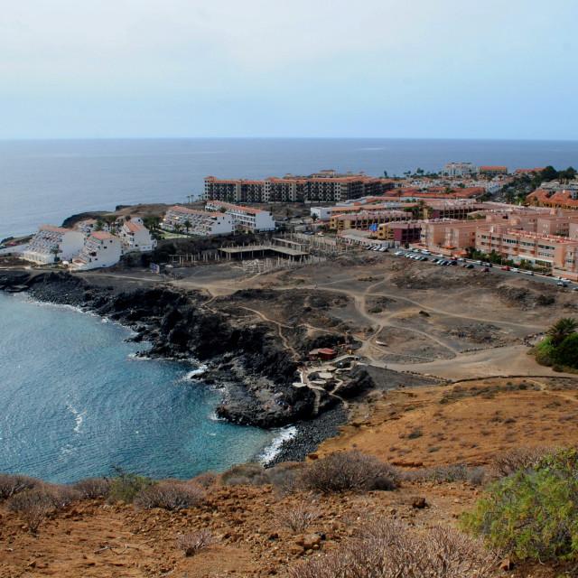"""View from Montaña Amarilla #1"" stock image"