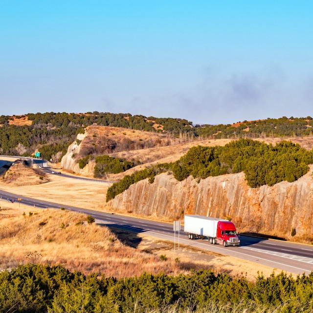 """Rocky Highway"" stock image"