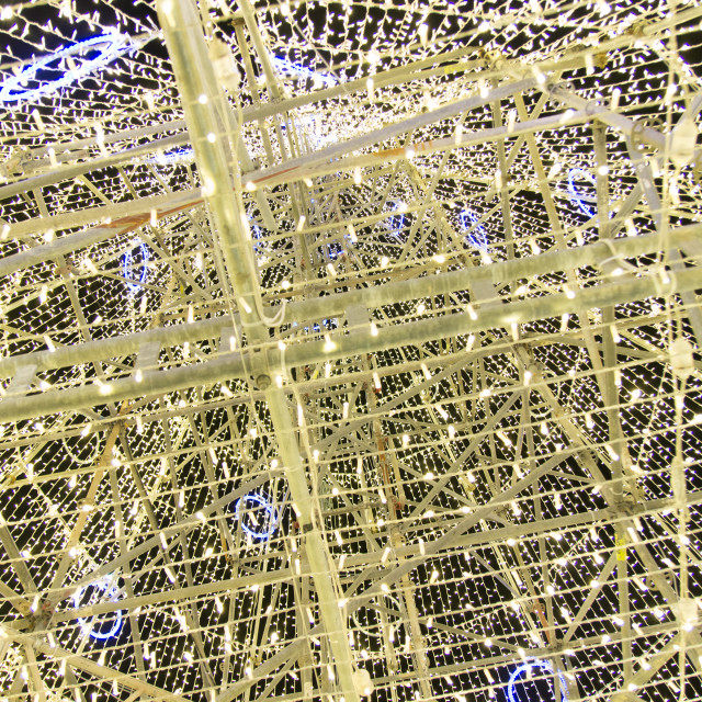 """Inside Porto's Christmas Tree"" stock image"