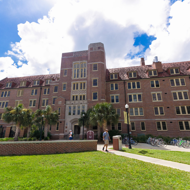 """Landis Hall at Florida State University"" stock image"