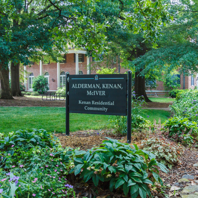 """Kenan Residential Community at UNC-Chapel Hill"" stock image"