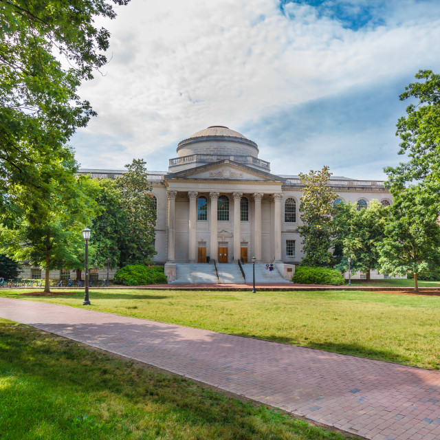 """Wilson Library at UNC-Chapel Hill"" stock image"