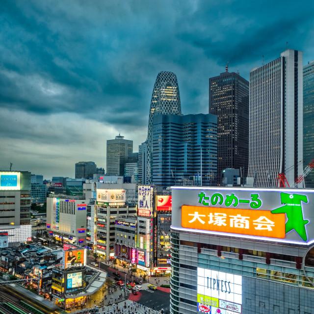 """""""Shinjuku, Tokyo"""" stock image"""