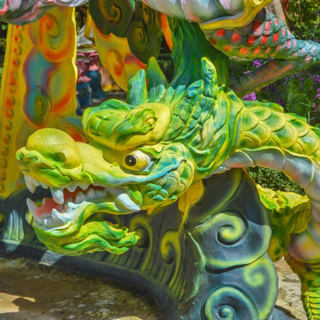 """Dalat Green Dragon"" stock image"