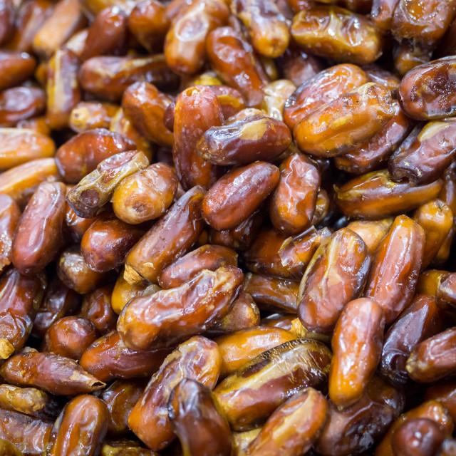 """Oman palm dates, close up"" stock image"