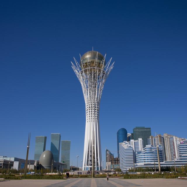 """""""Baiterek Tower, Astana, Kazakhstan"""" stock image"""