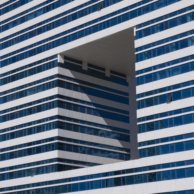 """Architectural Detail, Astana, Kazakhstan"" stock image"