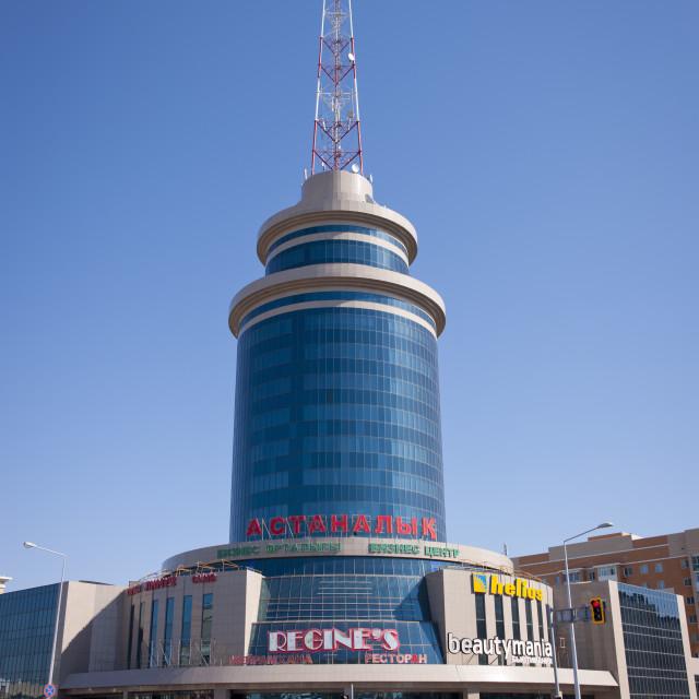 """""""Regines In Astana, Kazakhstan"""" stock image"""
