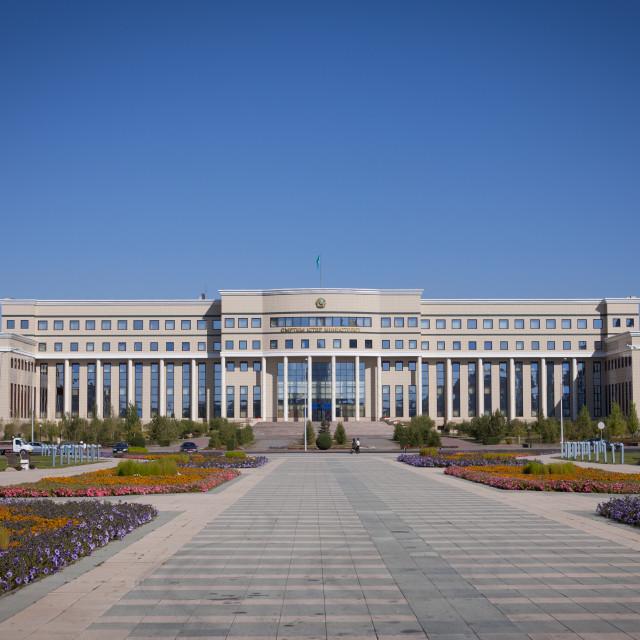 """Ministry In Astana, Kazakhstan"" stock image"
