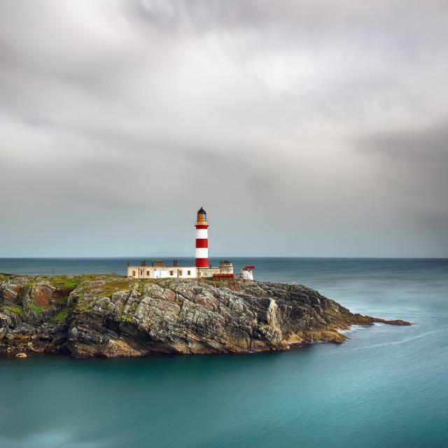 """Eilean Glas Lighthouse"" stock image"