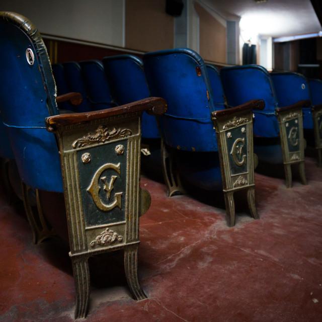 """""""Gil Vicente Cinema, Maputo, Mozambique"""" stock image"""