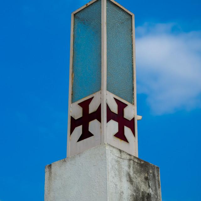 """""""Detail Of The Cathedral Nossa Senhora Da Conceicao, Maputo, Mozambique"""" stock image"""