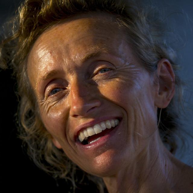 """Jewels Creator Astrid Sulger, Maputo, Mozambique"" stock image"