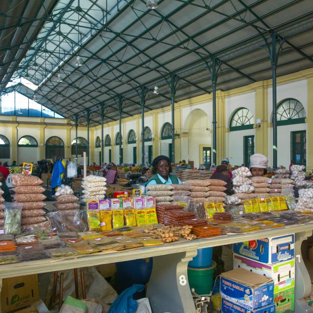 """""""Mercado Central, Maputo, Mozambique"""" stock image"""
