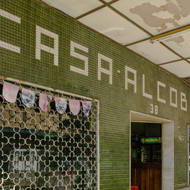 """Casa Alcobaca Shop, Maputo, Mozambique"" stock image"
