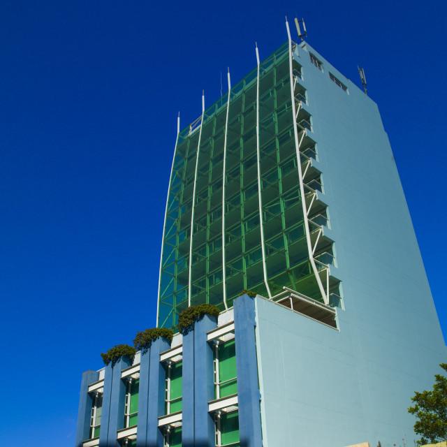 """""""Skyscraper, Maputo, Mozambique"""" stock image"""