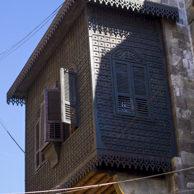 """""""Old House In Aleppo, Syria"""" stock image"""